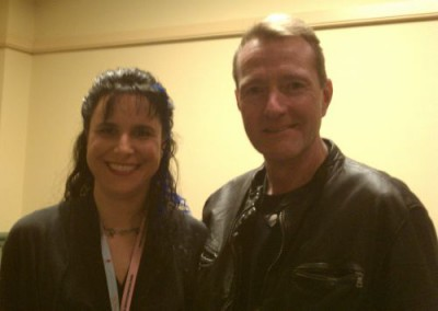 Picture of Lee Child and Jami Gold