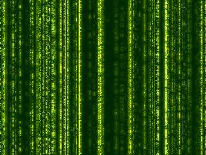 Falling Matrix Code
