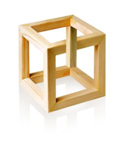 Impossible 3D Cube