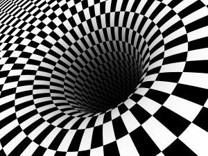Checkerboard Black Hole