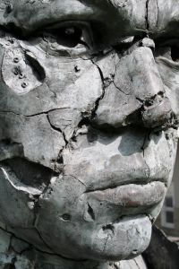 Cracked Statue