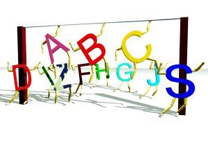 Acrobatic Alphabet