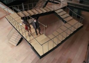 Penrose never-ending stairs optical illusion from the movie Inception