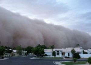 Dust Storm in Phoenix area July, 2011