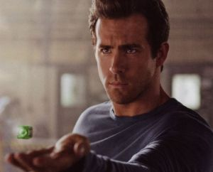 Hal Jordan with Green Lantern ring