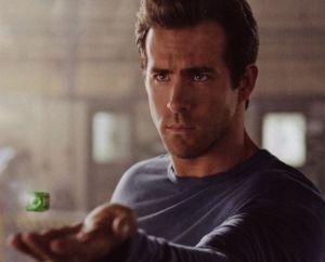 Hal Jordan with Green Lantern ring