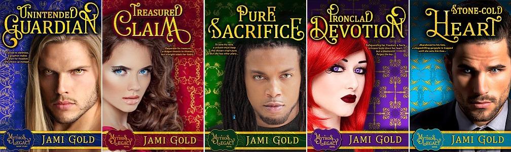 Jami Gold's book covers