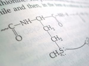 Page from chemistry book
