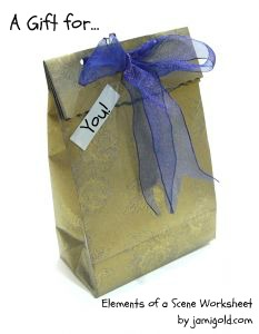 Gift bag with text - A Gift for... You!
