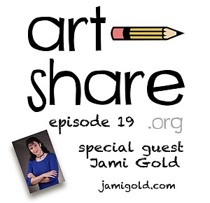 Art Share.org logo and episode information