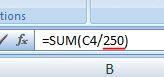 Formula for Courier manuscripts