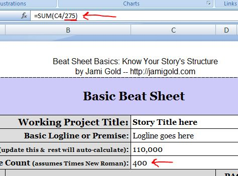 The formula for page count