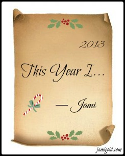 Blank Christmas stationary with text: This Year I...