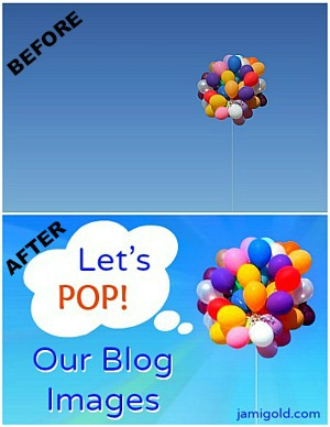 Before and after blog image