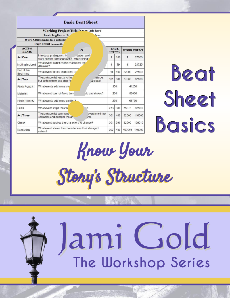 Beat Sheet Basics: Know Your Story's Structure Cover