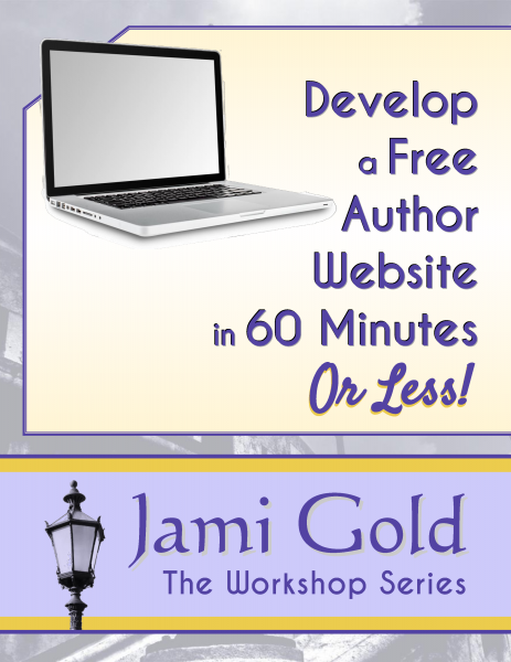 Develop a Free Author Website in 60 Minutes (or Less!) Cover