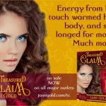 Quote from Elaina of Treasured Claim: Energy from his touch warmed her body, and she longed for more. Much more.