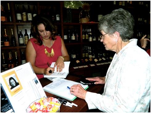 Tamar Hela's signing party
