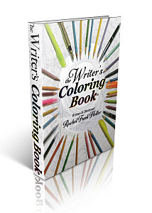 The Writers Coloring Book cover