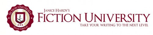 Janice Hardy's Fiction University banner