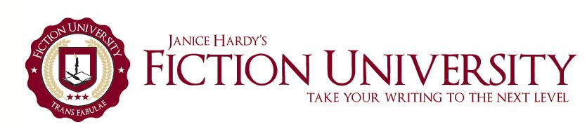 Janice Hardy's Fiction University banner