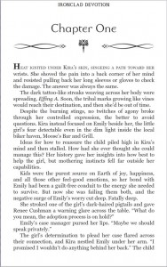 Sample page from Ironclad Devotion
