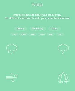 Noisli website