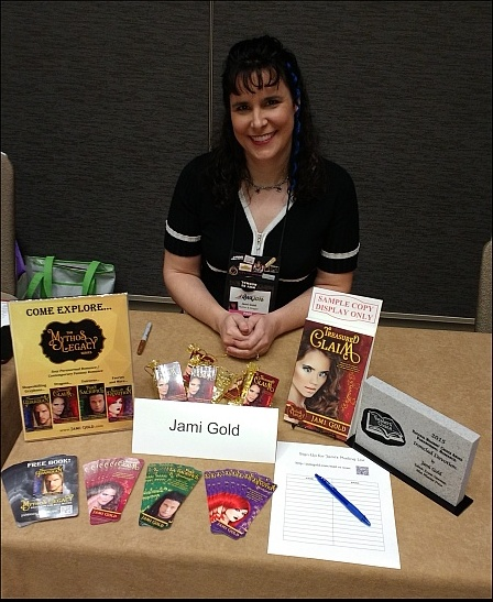 Jami Gold at the Indie Book Signing