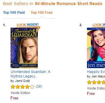 Unintended Guardian, a #1 bestseller