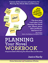 Planning Your Novel Workbook cover