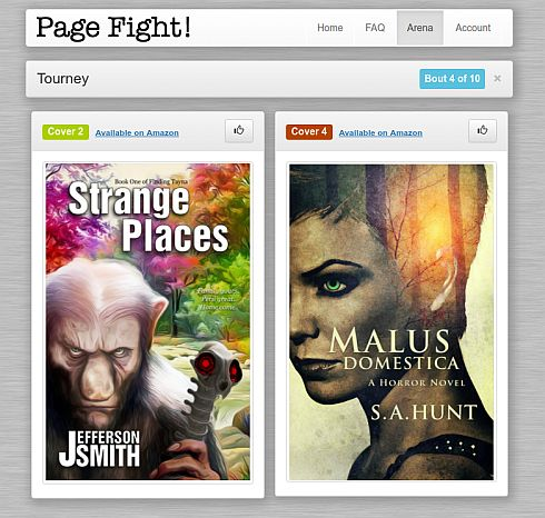 PageFight covers
