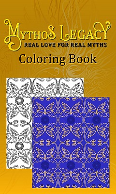Mythos Legacy Coloring Book cover