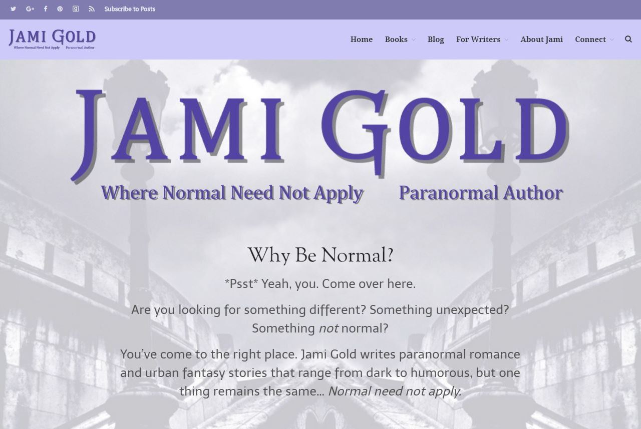 Branding 101: Do You Have a Tagline?   Jami Gold, Paranormal