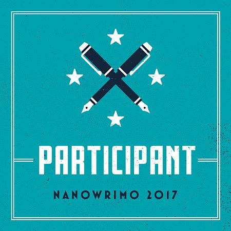 NaNoWriMo Participant Badge for 2017