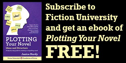 Subscribe to Fiction University and get an ebook of Plotting Your Novel Free!
