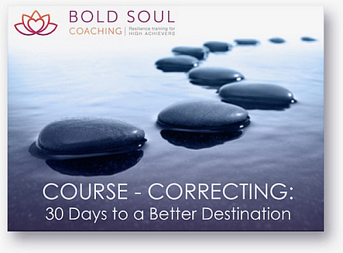 Bold Soul Coaching: 30 Days Course Correcting