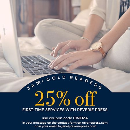 25% off coupon for publishing services with code: CINEMA