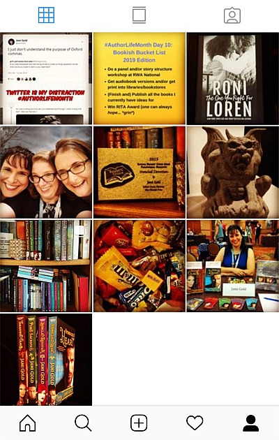 Jami Gold's posts on Instagram