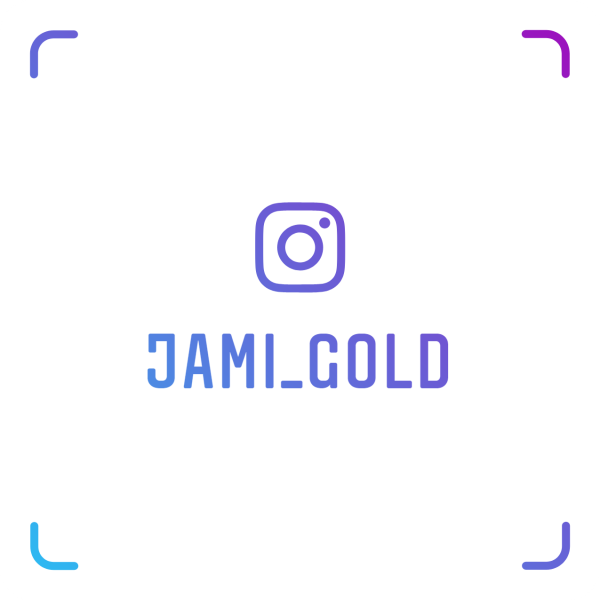 Instagram scan this nametag to follow Jami Gold