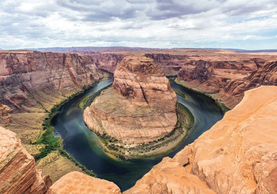 Horseshoe Bend (from the top)