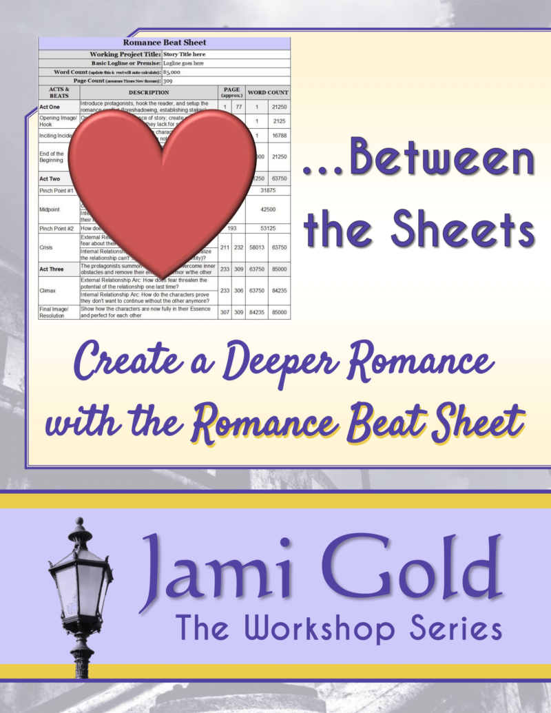 Between the Sheets: Create a Deeper Romance with the Romance Beat Sheet