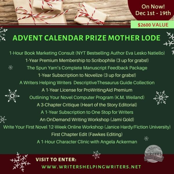 WHW Advent Calendar Prize Motherlode