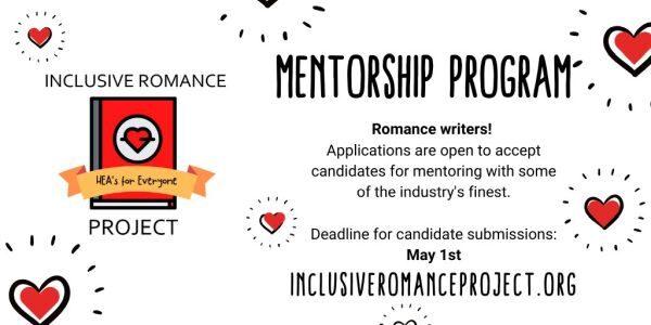 IRP Mentorship Program - Romance writers! Deadline May 1st