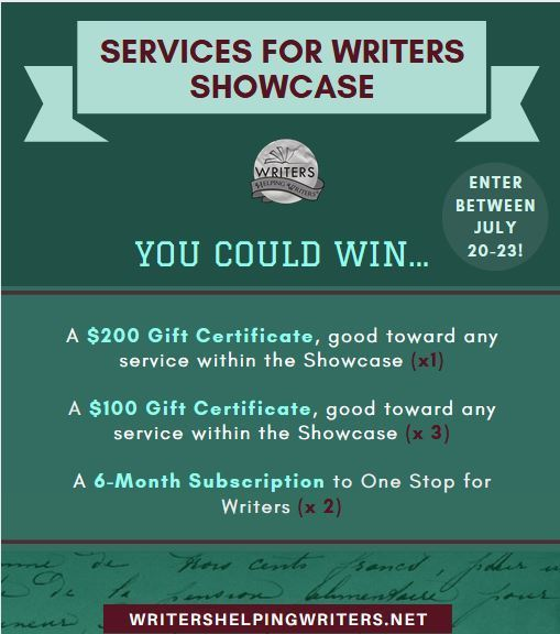 Services for Writers Showcase -- You could win!