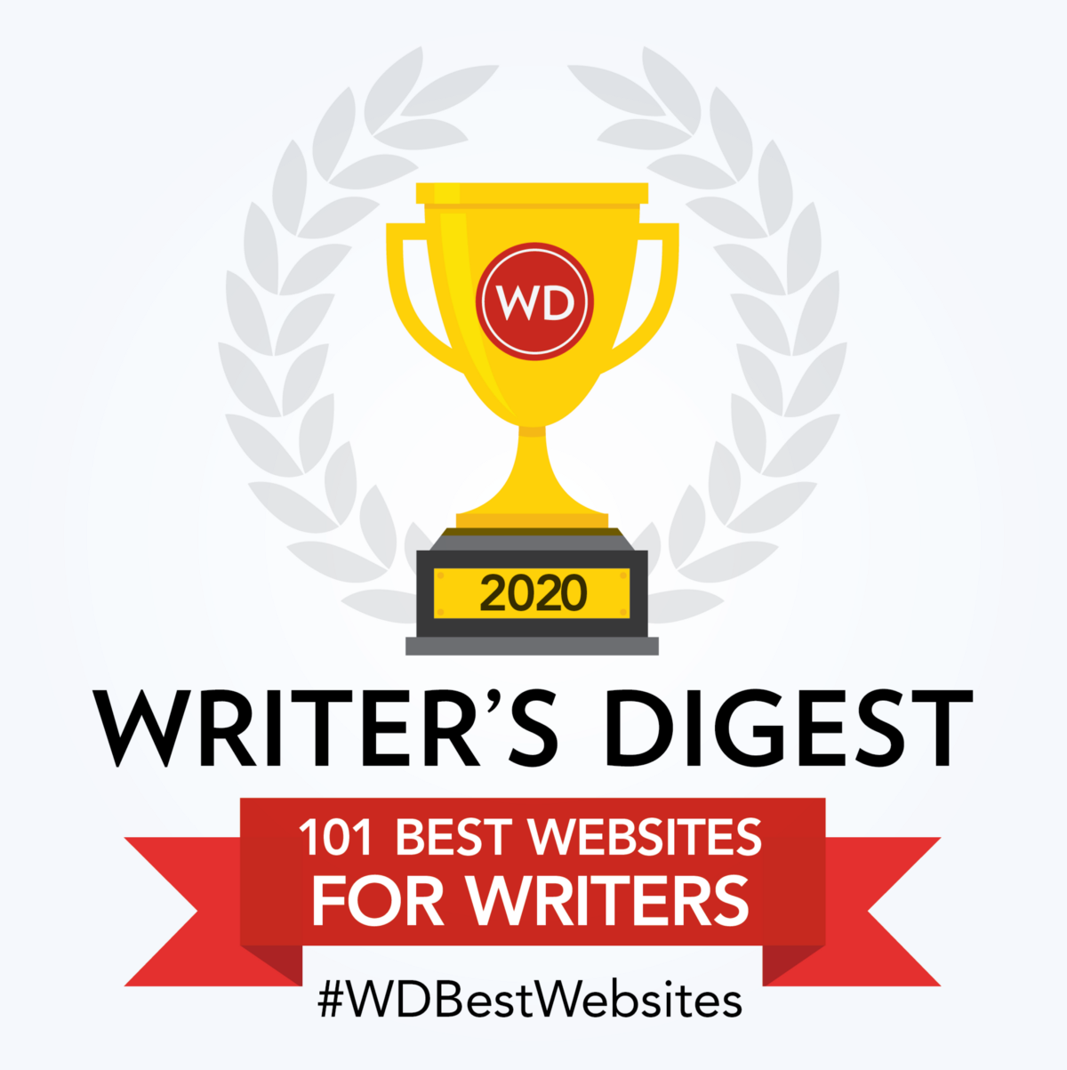 Badge for Writer's Digest 101 Best Websites for Writers: Award 2020