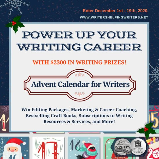 Writers Helping Writers Advent Calendar Giveaway